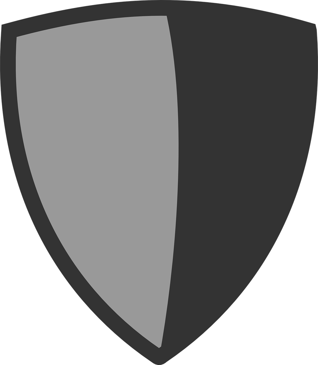 Icon of a shield